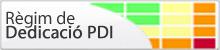 Regim Dedicació PDI, (obriu en una finestra nova)
